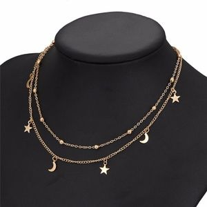 Jewelry - GOLD_ Celestial Choker Necklace